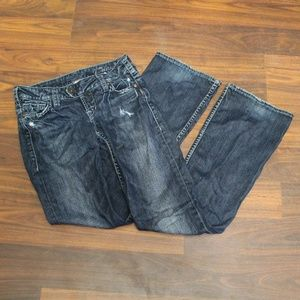 SILVER Tuesday Distressed Jeans Size 26x33